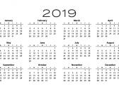 calendario pensioni 2019