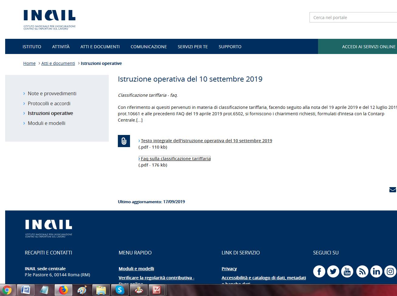 INAIL-FAQ