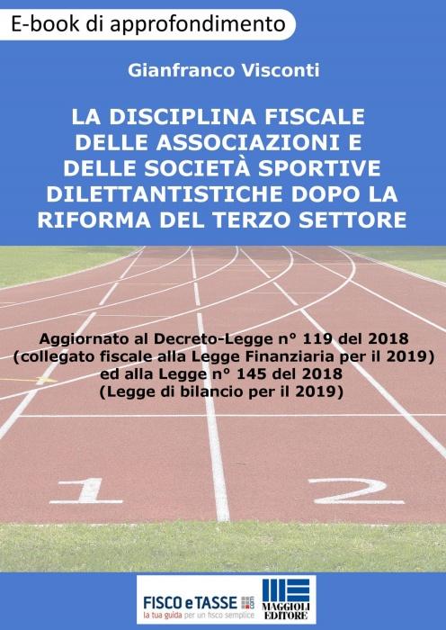 Disciplina fiscale delle associazioni sportive