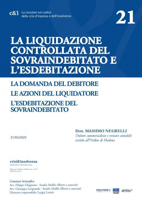 Liquidazione controllata del sovraindebitato