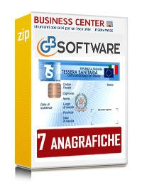 Software Invio spese sanitarie - 7 anagrafiche