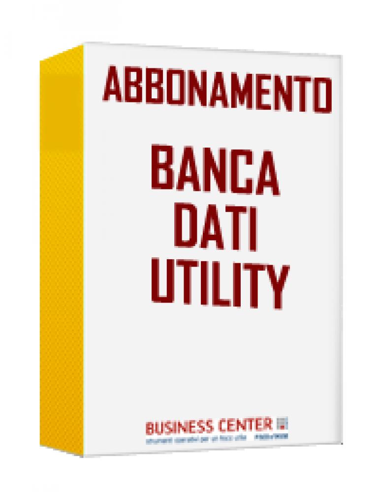 Banca Dati Utility OFFERTA LAMPO