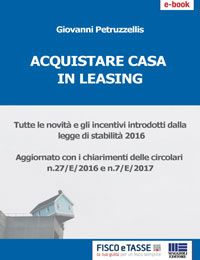 Acquistare casa in leasing (eBook 2018)