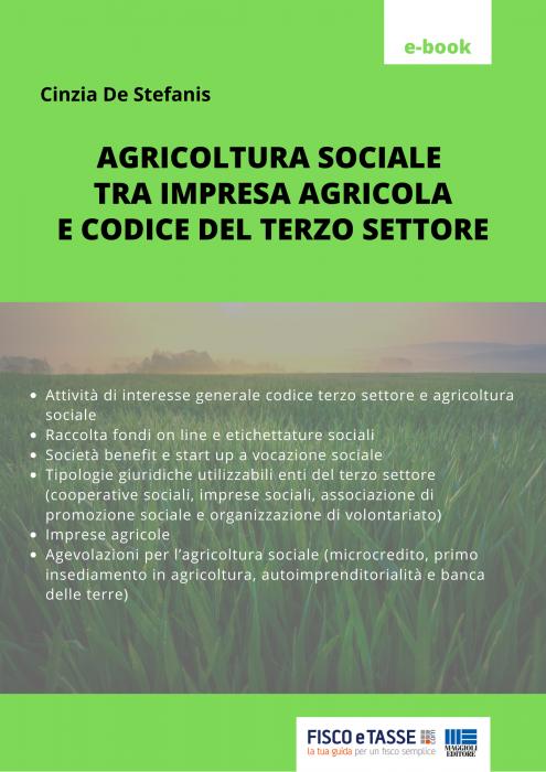 Agricoltura sociale (impresa agricola e terzo settore)