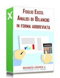 Analisi di Bilancio in forma abbreviata (Excel)