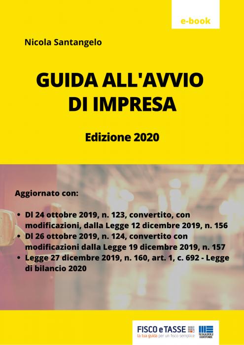 Guida all'avvio di un'impresa (eBook 2020)