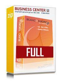 Bilancio Europeo GB FULL - Software 30 anagrafiche