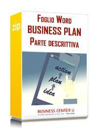 Business Plan descrittivo - Piano d'Impresa per Start u