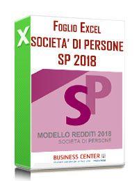 Calcolo Redditi E Irap 2018 Società Di Persone (Excel)