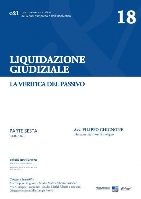 Liquidazione giudiziale - Parte sesta