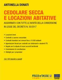 Cedolare Secca E Locazioni Abitative (eBook 2017)
