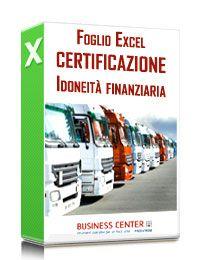 Certificazione idoneità finanziaria autotrasportatori