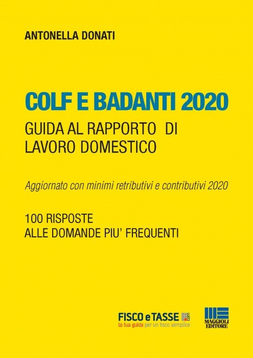 Colf e badanti 2020 (eBook)