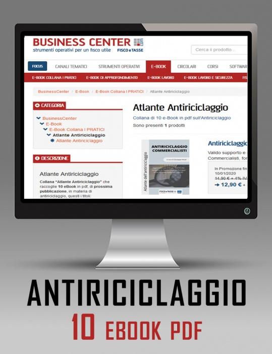Abbonamento Atlante Antiriciclaggio (10 eBook)