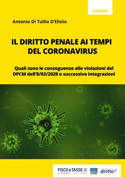 Il diritto penale ai tempi del Coronavirus