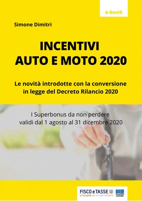 Incentivi auto e moto 2020 (eBook)