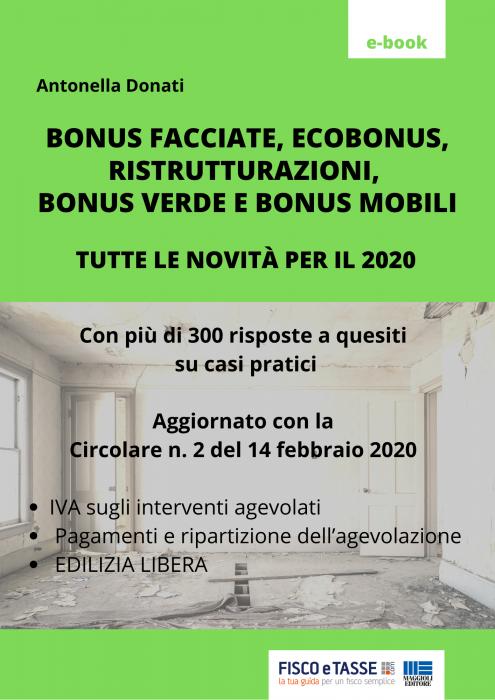 Bonus casa 2020: più di 300 risposte a casi pratici