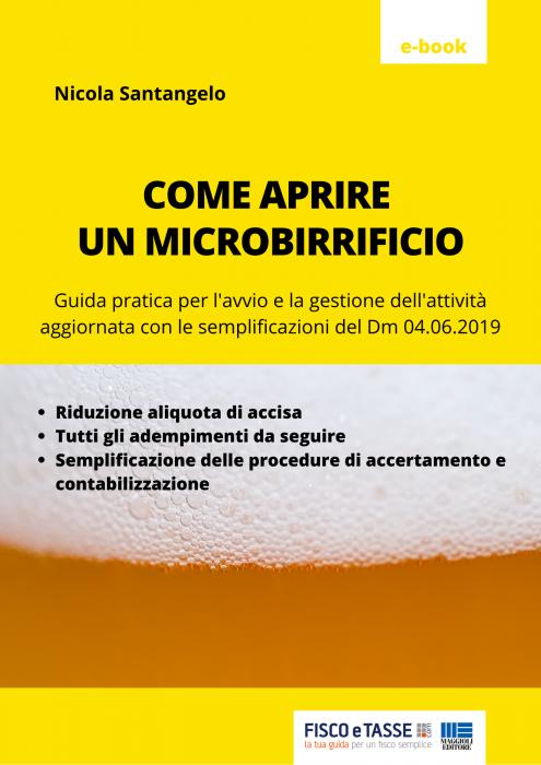 Come aprire un microbirrificio (eBook 2020)