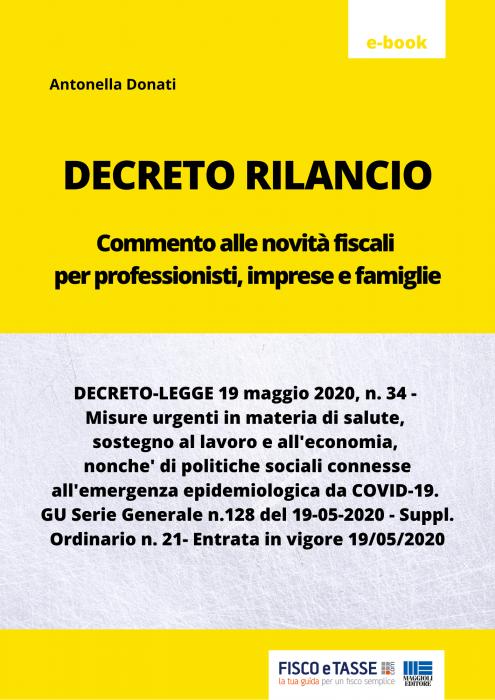 Decreto Rilancio (eBook 2020)