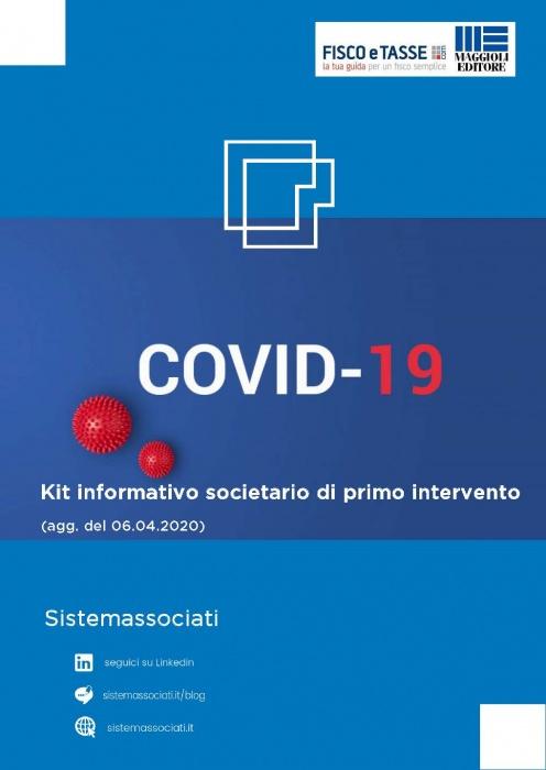Emergenza Coronavirus - Kit informativo societario