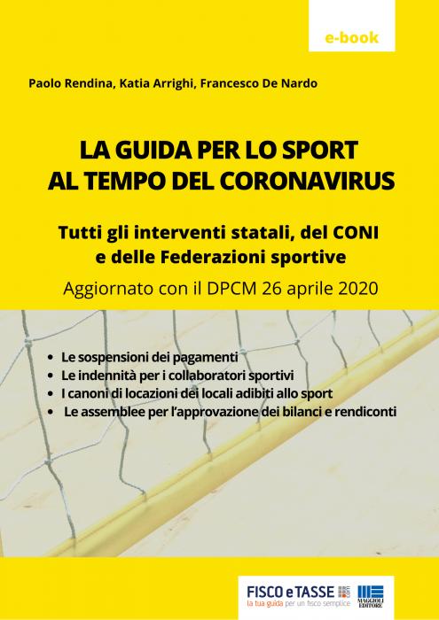La Guida per lo Sport al tempo del Coronavirus (eBook)