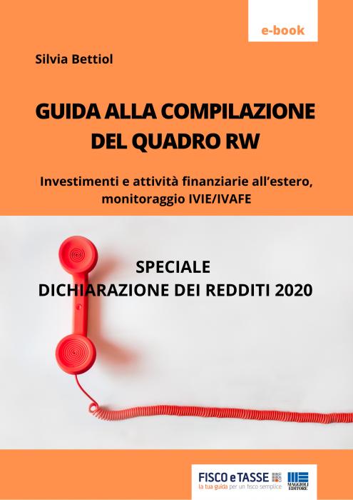 Guida alla compilazione del Quadro RW 2020 (eBook)