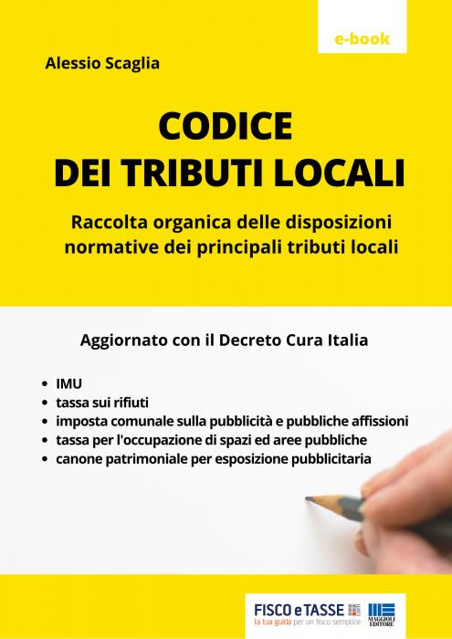 Codice dei tributi locali (eBook 2020)