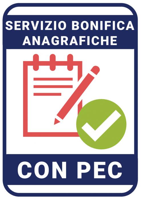Bonifica Anagrafiche con Inserimento Pec -Extra (x1000)