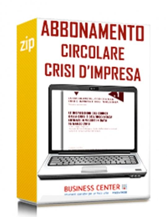 Abbonamento Circolare sul Codice della Crisi d'Impresa