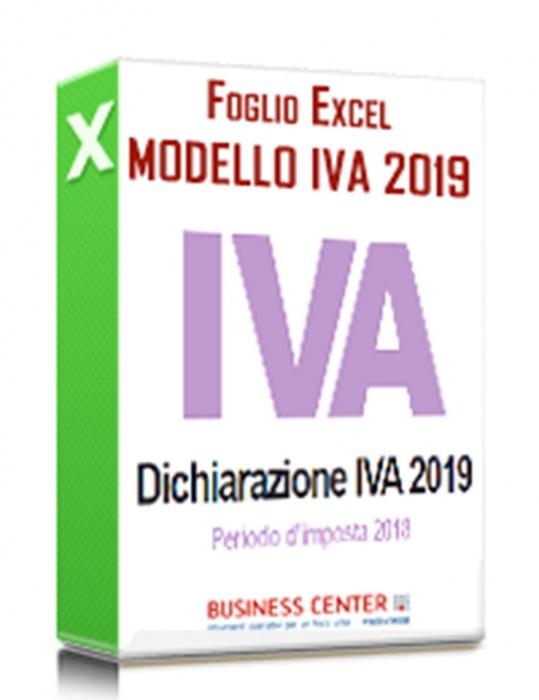 Modello IVA 2019 (excel)