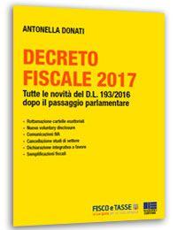 Decreto Fiscale 2017 (eBook)