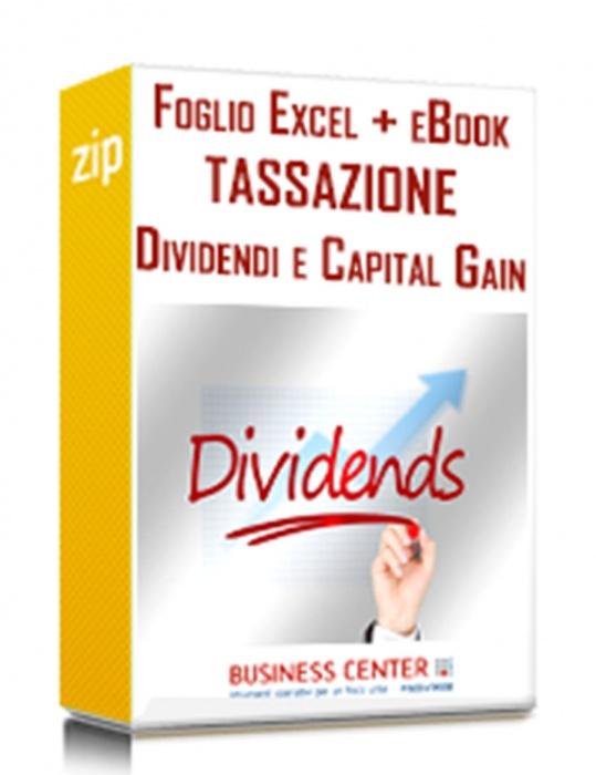 Tassazione dividendi e Capital Gain 2019 (Pacchetto)