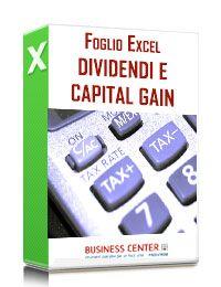 Tassazione dividendi e Capital Gain (excel)