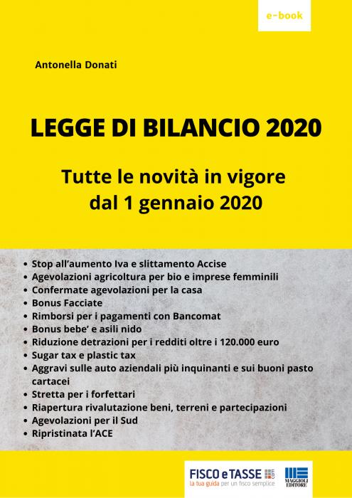 Legge di Bilancio 2020 (eBook)
