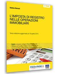 L'Imposta di registro nelle operazioni immobiliari