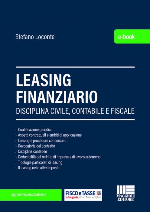 Leasing finanziario (eBook 2020)