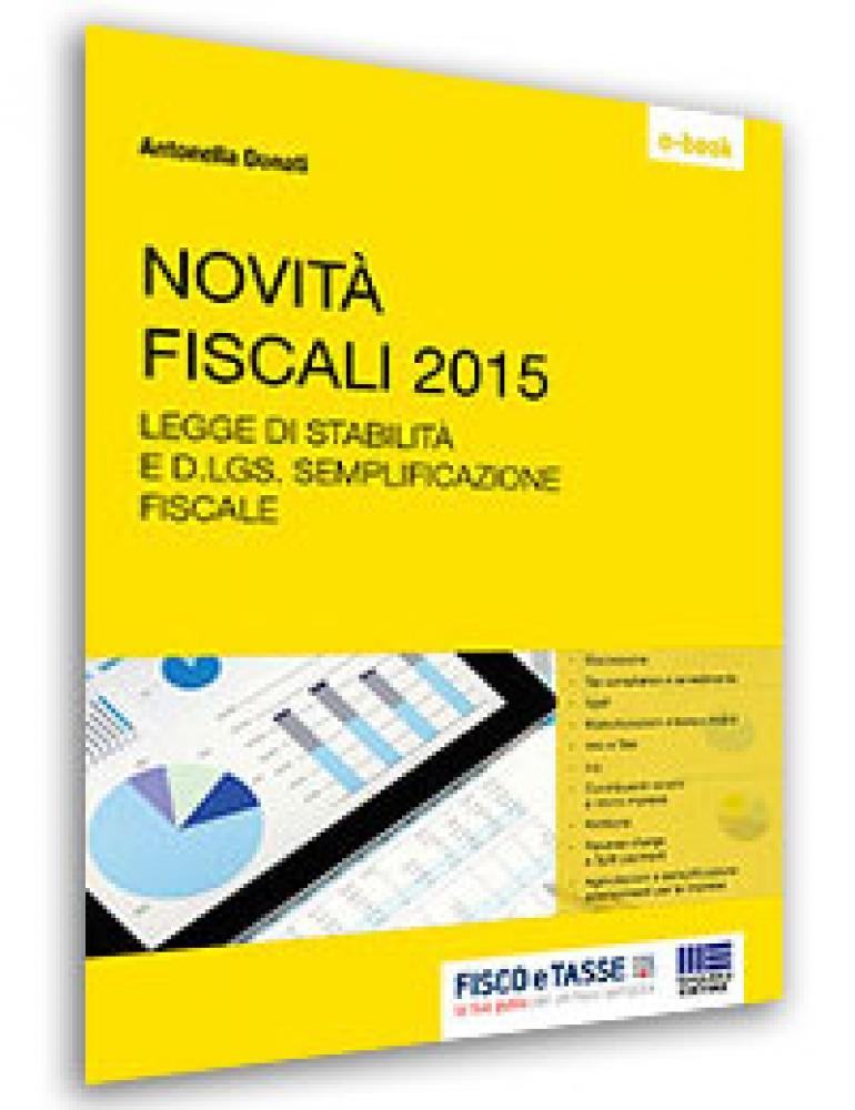 Novità fiscali 2015 (E-Book)