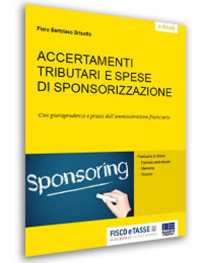 Accertamenti e spese di sponsorizzazioni (E-Book)