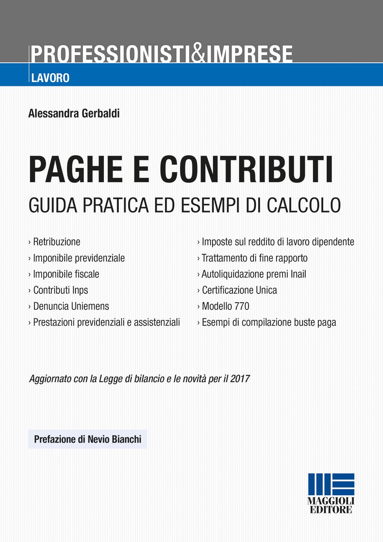 Paghe e contributi - Libro carta