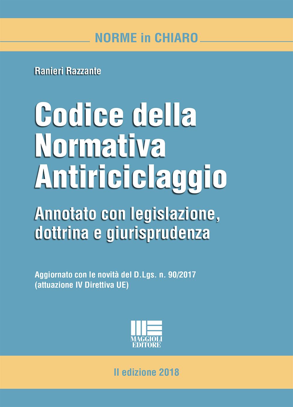 Codice della Normativa Antiriciclaggio-Libro Carta