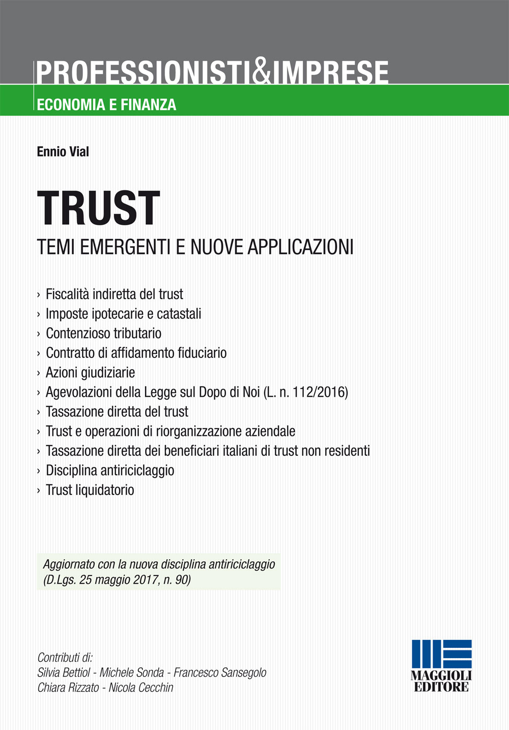 Trust temi emergenti e nuove applicazioni