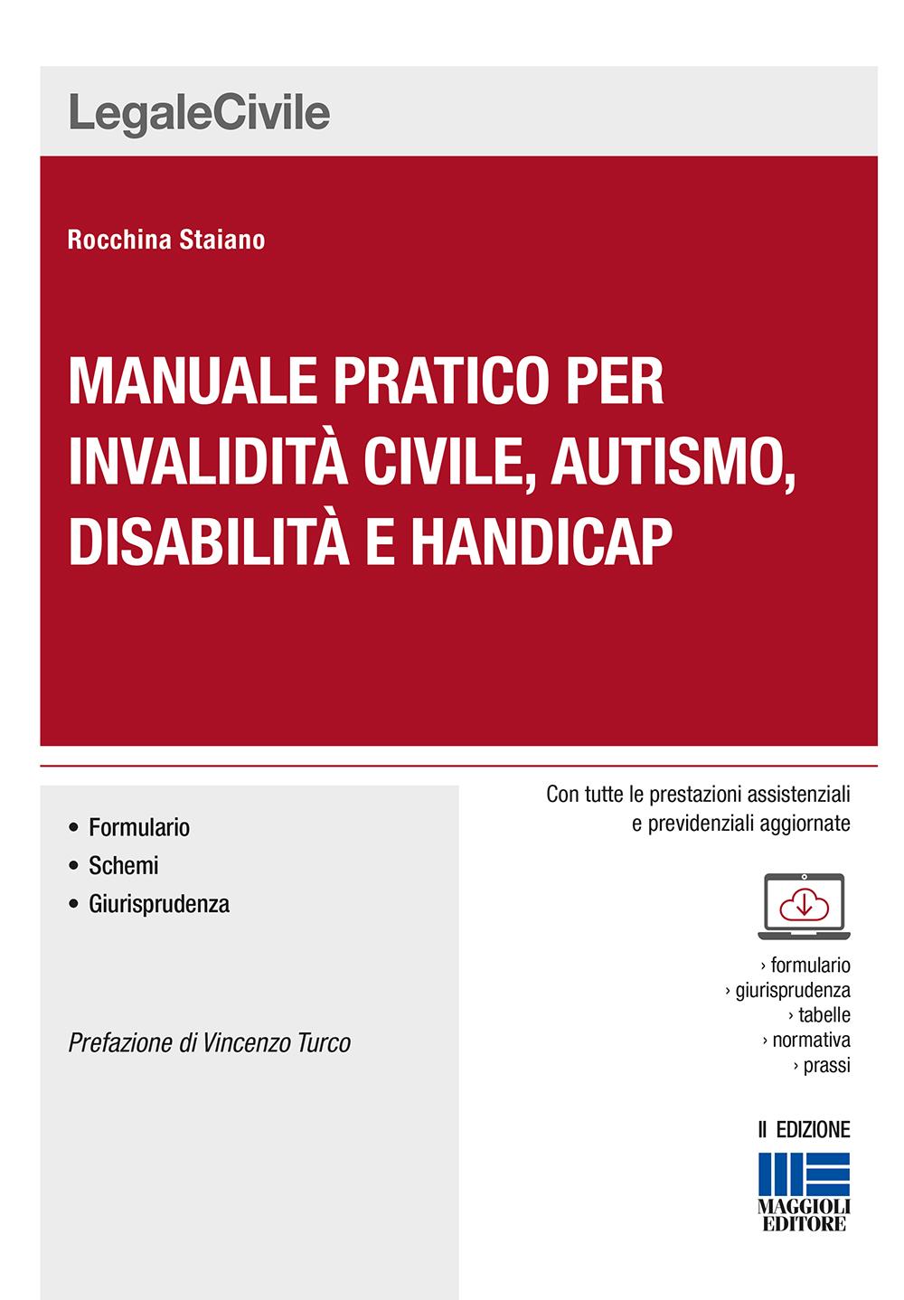 Manuale pratico per invalidità civile, autismo, disabil