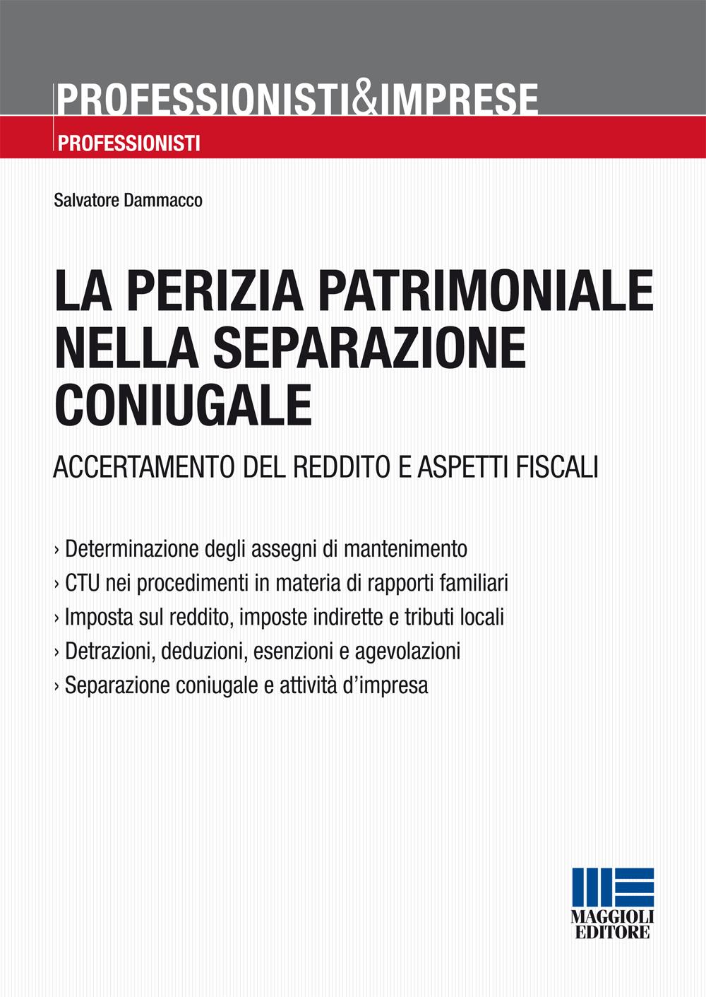 Perizia patrimoniale nella separazione coniugale-Libro