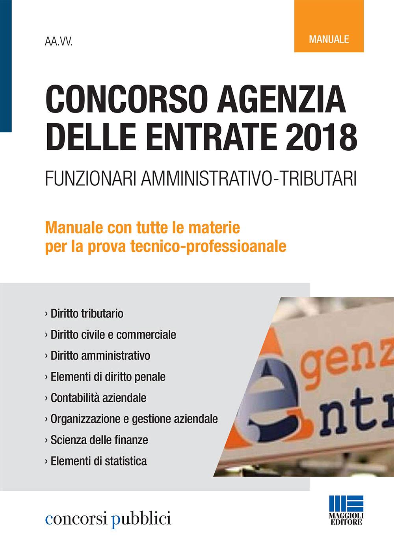 Concorso Agenzia delle Entrate 2018 - Manuale