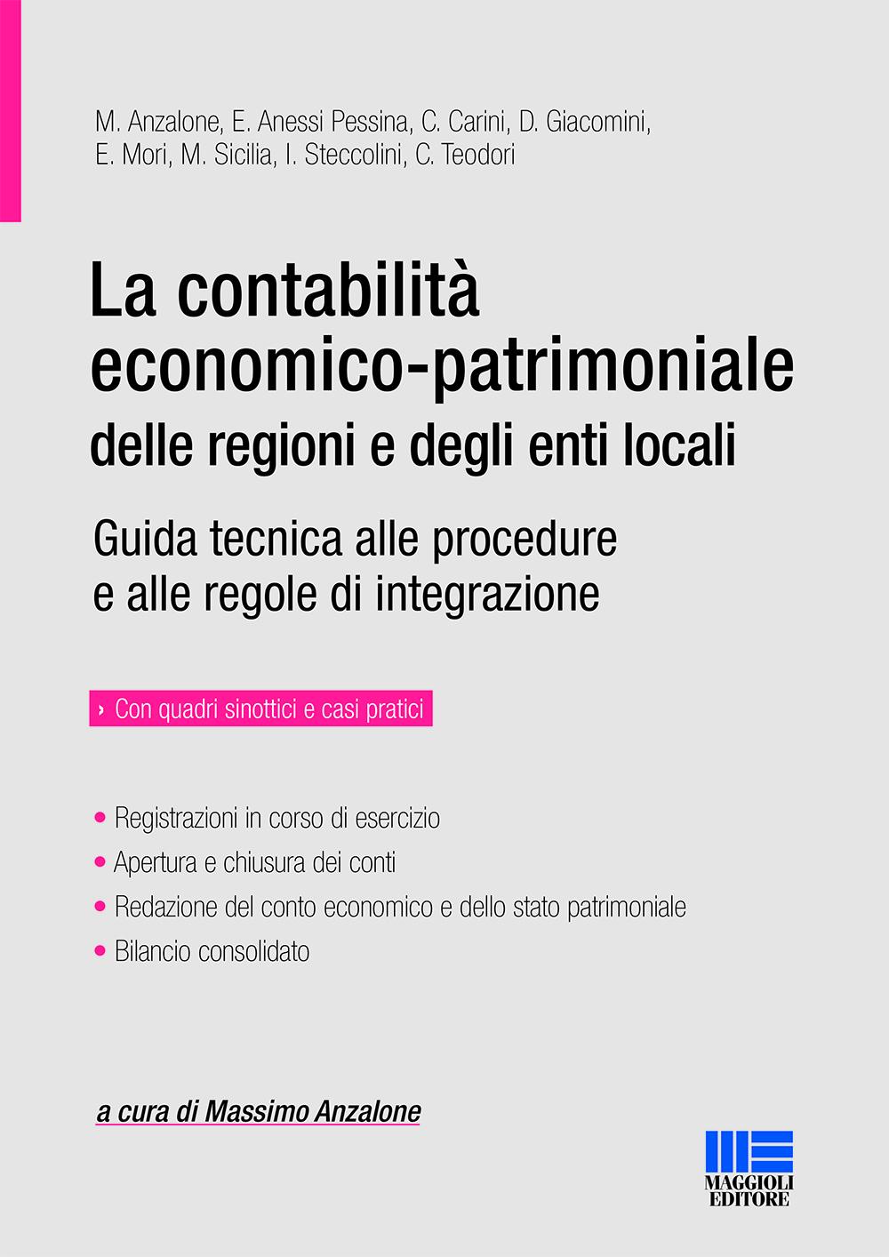 La contabilità delle regioni e degli enti locali-Libro