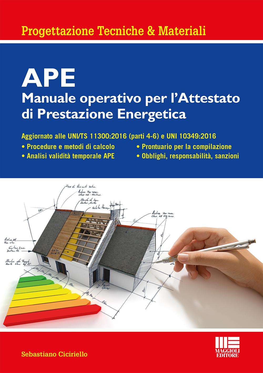 APE: Attestato di Prestazione Energetica - Libro