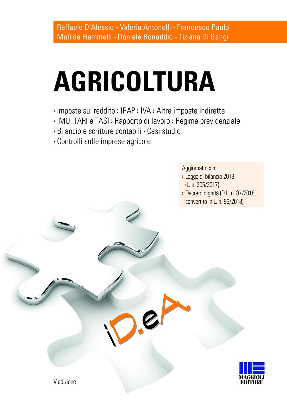 Agricoltura - Libro di carta