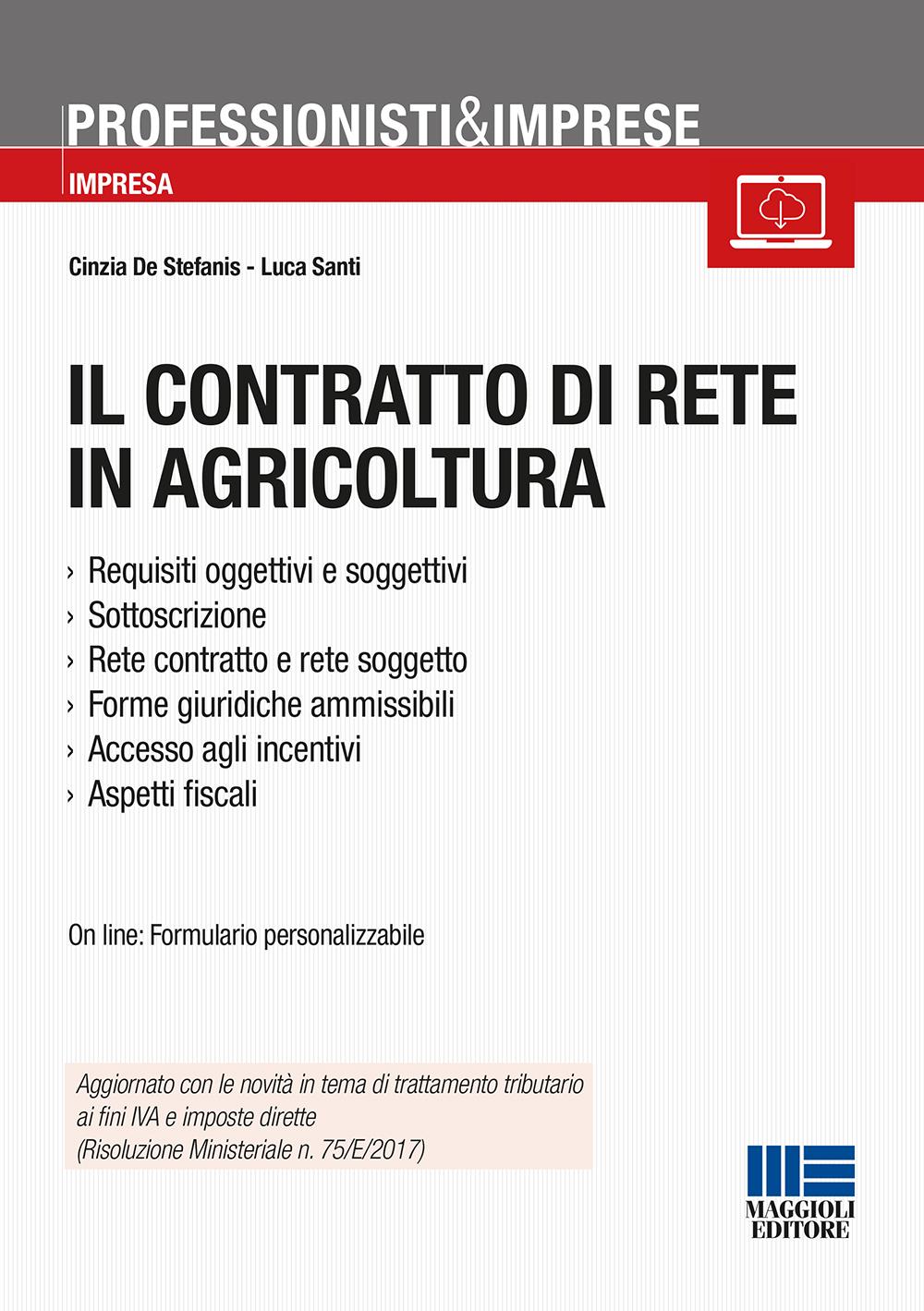 Il contratto di rete in agricoltura