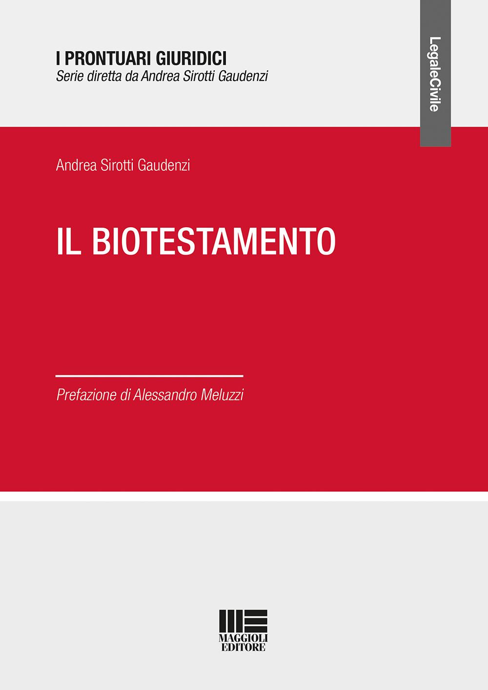 Il biotestamento - Libro carta
