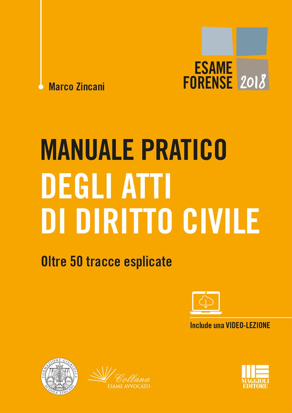 Manuale pratico Atti di Diritto Civile - Libro carta